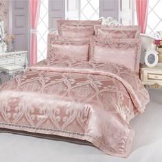 Постельное белье (евро-комплект) kingsilk (kingsilk) розовый 60.0x45.0x12.0 см.