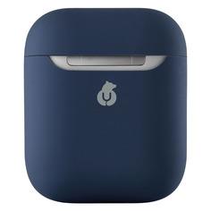 Аксессуары для наушников Кейс UBEAR Touch Case, для AirPods, синий [cs54db12-ap]