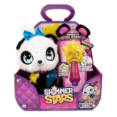 Мягкая игрушка Shimmer Stars Плюшевая панда (S19300) белый/черный 20см (4+)