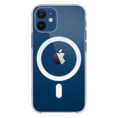 Чехол (клип-кейс) APPLE Clear Case with MagSafe, для Apple iPhone 12 mini, прозрачный [mhll3ze/a]