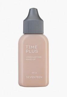 Тональный крем Seventeen Seventeen. TIME PLUS LONGLASTING MAKE UP длительного действия, SPF 15, т.1 фарфор, 35 мл