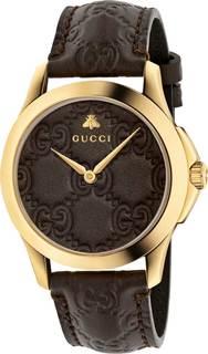 Швейцарские женские часы в коллекции G-Timeless Женские часы Gucci YA1264035