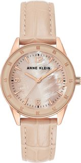 Женские часы в коллекции Leather Женские часы Anne Klein 3734RGBH