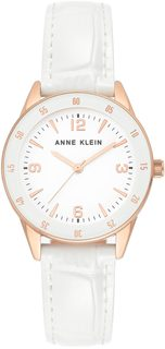 Женские часы в коллекции Leather Женские часы Anne Klein 3734RGWT