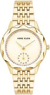 Женские часы в коллекции Crystal Женские часы Anne Klein 3506CHGB