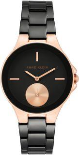 Женские часы в коллекции Ceramics Женские часы Anne Klein 3808BKRG