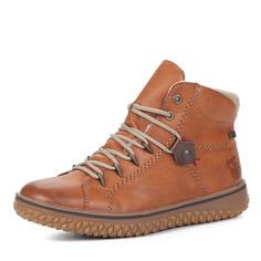 Ботинки Рыжие ботинки из экокожи на шерсти Rieker