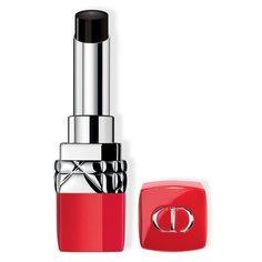 Увлажняющая помада для губ Rouge Dior Ultra Rouge, 111 Ультра Ночь Dior
