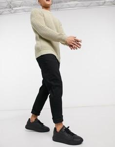 Черные узкие джинсы River Island-Черный