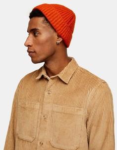 Светло-бежевая вельветовая стеганая рубашка Topman-Светло-бежевый