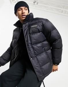 Черная дутая куртка Napapijri Tammikuu-Черный