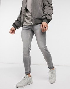 Серые джинсы Topman-Серый