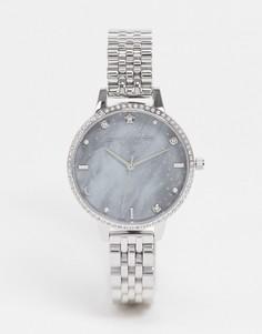 Серебристые наручные часы Olivia Burton OB16GD65-Серебристый