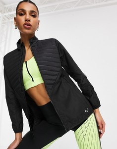 Черная куртка PUMA Running-Черный