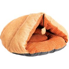 Домик для животных Foxie Colour 59x57x35 см оранжевый