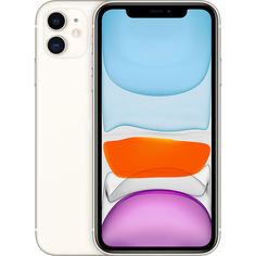 Смартфон Apple iPhone 11 128 GB белый