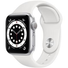 Смарт-часы Apple Watch Series 6 40 мм Silver MG283RU/A