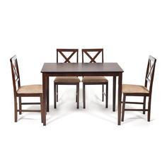 Комплект мебели TC cappuccino стол и 4 стула