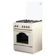 Газовая плита (60 см) De Luxe 606040.24г 006(кр) ЧР