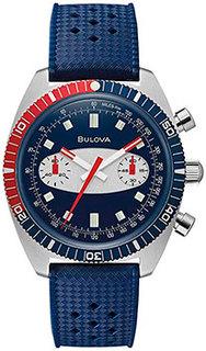 Японские наручные мужские часы Bulova 98A253. Коллекция Chronograph A