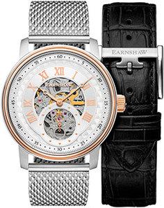 мужские часы Earnshaw ES-8119-22. Коллекция Downing