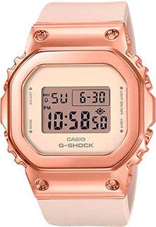 Японские наручные женские часы Casio GM-S5600PG-4ER. Коллекция G-Shock