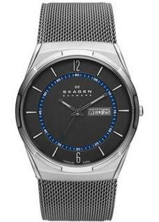 Швейцарские наручные мужские часы Skagen SKW6078. Коллекция Mesh