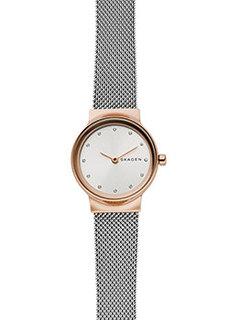 Швейцарские наручные женские часы Skagen SKW2716. Коллекция Mesh
