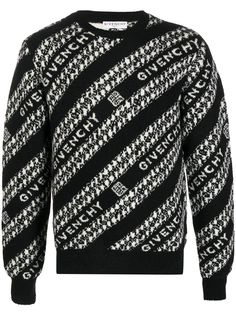 Givenchy джемпер с логотипом