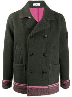 Stone Island двубортный пиджак