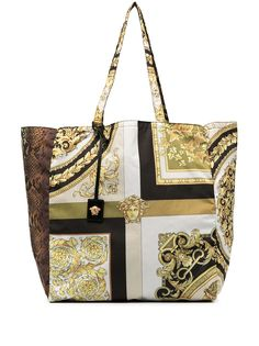 Versace сумка-тоут с принтом