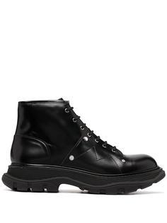 Alexander McQueen ботинки Tread на шнуровке