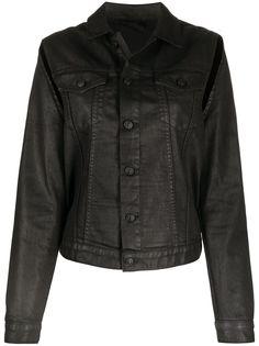 Diesel джинсовая куртка с вырезами