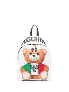 Moschino рюкзак Teddy Bear с логотипом