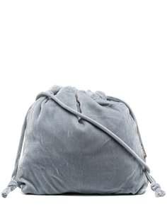 Aspesi бархатная сумка-ведро