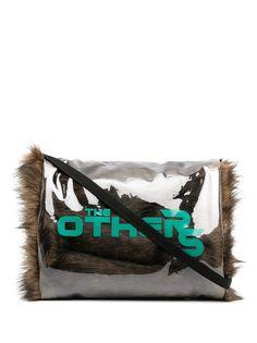 Raf Simons муфта The Others из искусственного меха