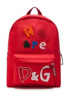 Dolce & Gabbana Kids рюкзак We Are D&G