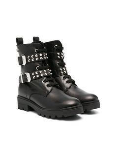 Philipp Plein ботинки с пряжками