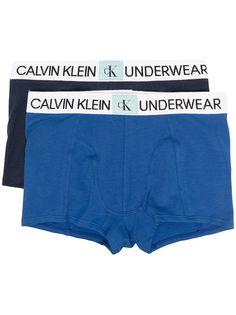 Calvin Klein Kids комплект из трех трусов-брифов с логотипом