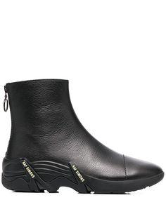 Raf Simons ботинки на рифленой подошве