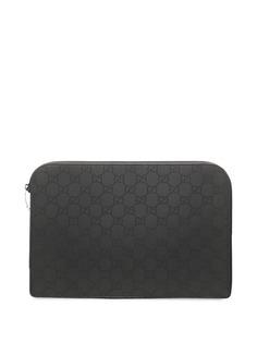 Gucci Pre-Owned чехол для iPad с узором GG Supreme