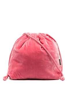 Aspesi бархатная сумка с кулиской