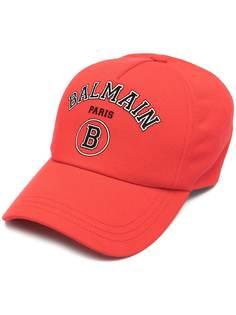 Balmain бейсболка с логотипом