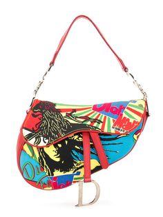 Christian Dior сумка на плечо Rasta Saddle pre-owned