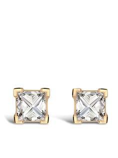 Pragnell серьги RockChic из желтого золота с бриллиантами