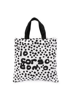 10 CORSO COMO сумка-тоут в горох с логотипом