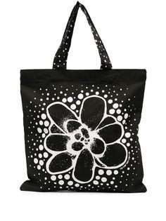 10 CORSO COMO сумка-тоут в горох с цветочным принтом