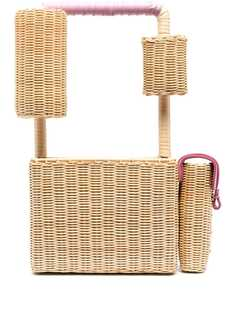 Natasha Zinko соломенная сумка-тоут Picknic