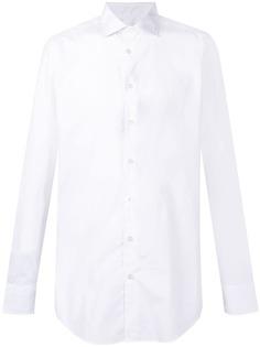 Etro рубашка с заостренным воротником