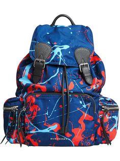 Burberry большой рюкзак